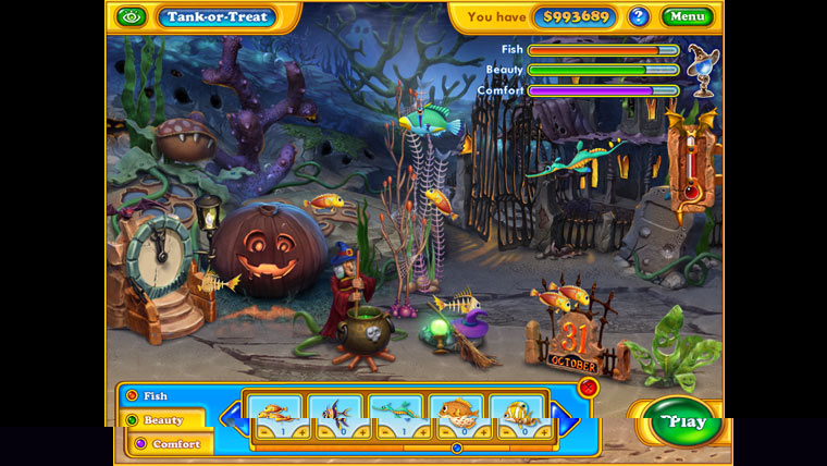 Imagen de Fishdom: Spooky Splash