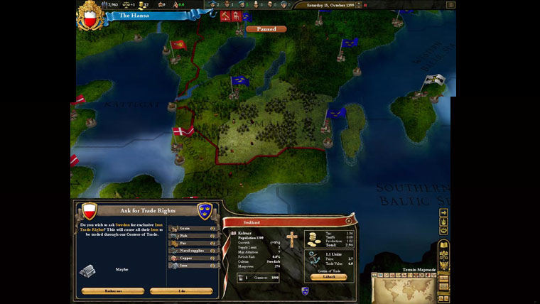 Imagem de EU3:Heir to the Throne