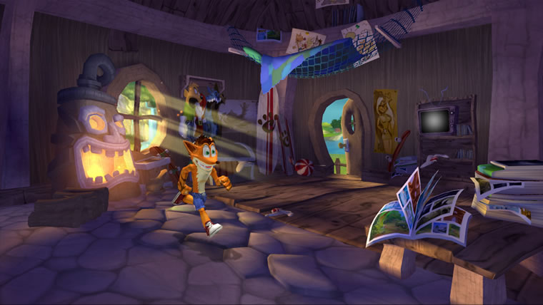 Image from Crash Mind Over Mutant