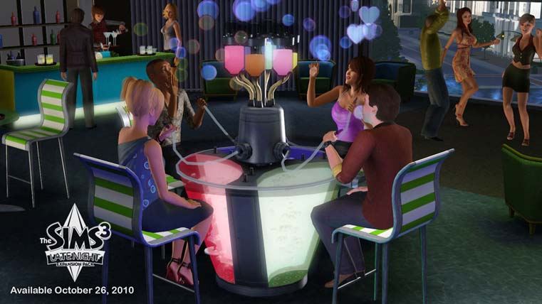 Image from The Sims 3 Late Night