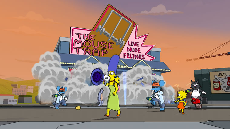 Image from The Simpsons™ Game