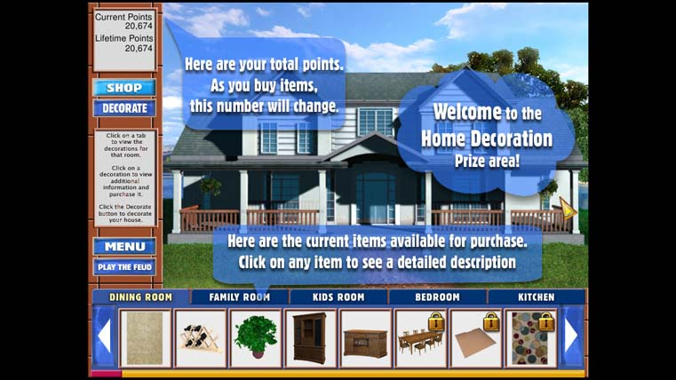 Image from Family Feud Dream Home