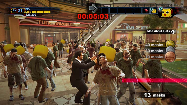 Snmek ze hry Dead Rising 2 Off The Record