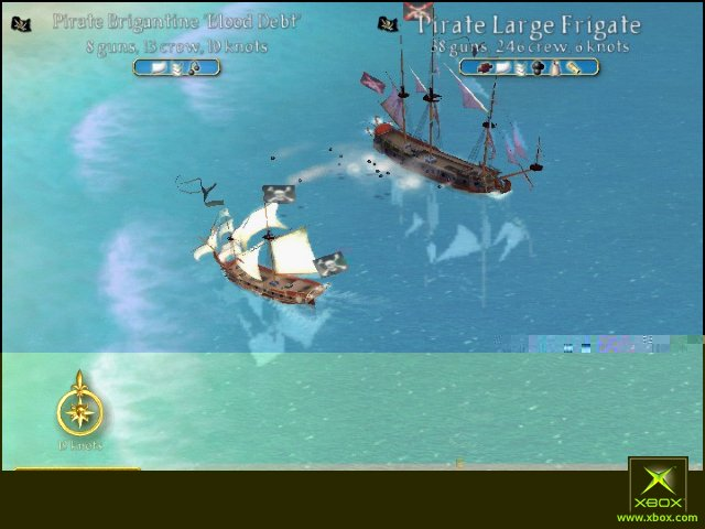 Image from Sid Meier's Pirates!