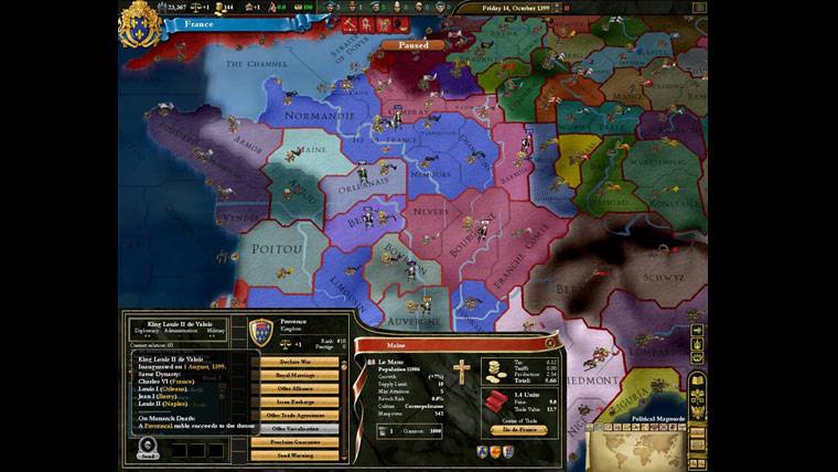 Bilde fra EU3:Heir to the Throne