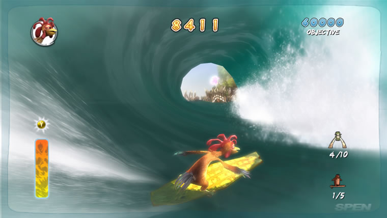 Image from Surf's Up