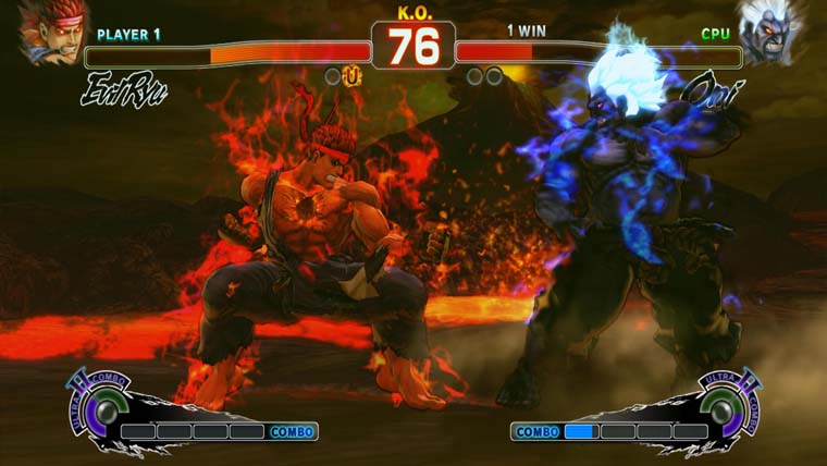 Image from SSFIV ARCADE EDITION