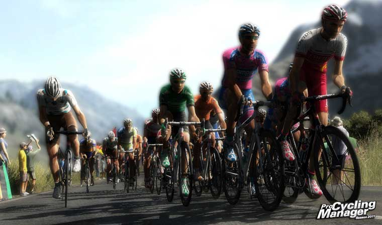 Bilde fra Pro Cycling Manager