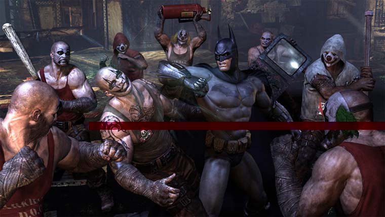 Kuva pelist Batman Arkham City