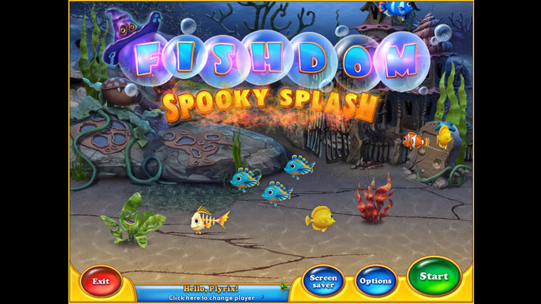 Kp, forrsa: Fishdom: Spooky Splash