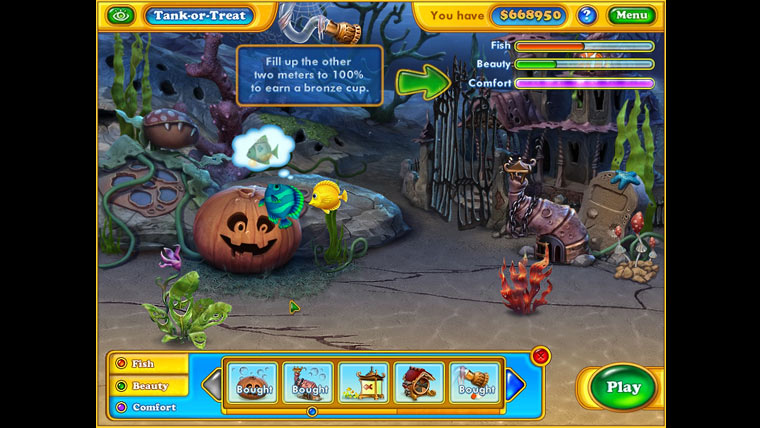 Image from Fishdom: Spooky Splash