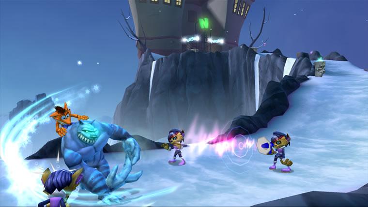 Image de Crash : G. Mutant