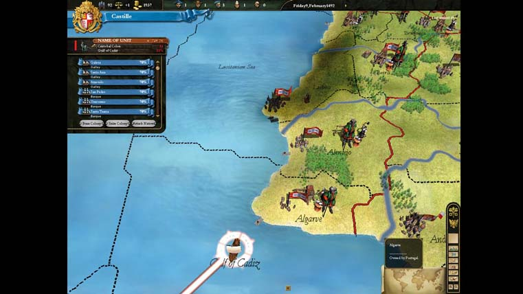Image from Europa Universalis III