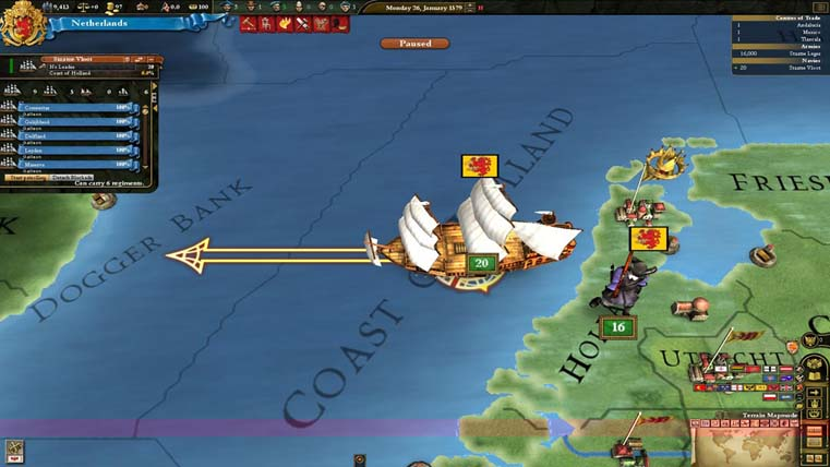 Image from EU 3: Divine Wind