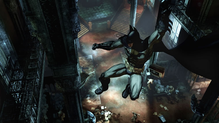 Image from Batman: AA GOTY