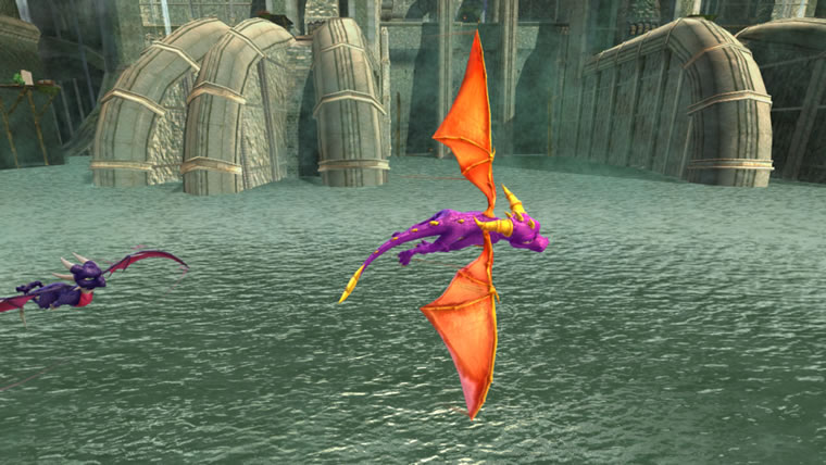 Image from Legend of Spyro
