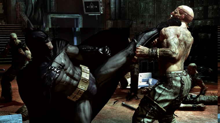 Kuva pelist Batman: Arkham Asylum